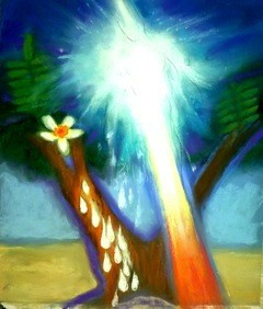 Spirit of the Holy Tree by Artist, Wendy Byrd.
