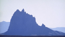 Shiprock, New Mexico 'Tse Bi dahi', or the Rock with Wings.  Photo and Article by Martin Gray